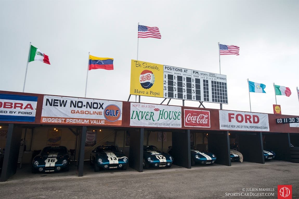 Goodwood Revival 2015 - Shelby Daytona Cobra Coupe