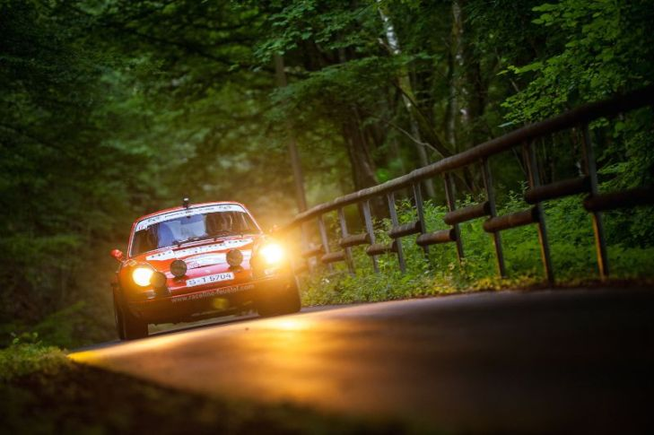 1970 Porsche 911S that won the Monte Carlo Rally at the hands of Bjorn Waldegard
