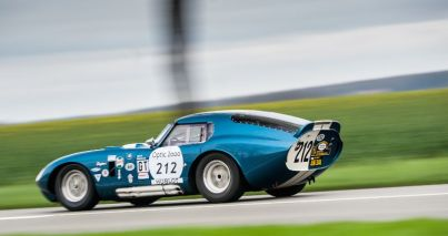 1964 Shelby Daytona Cobra Coupe at the Tour Auto Rally