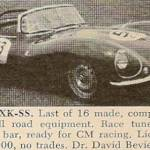 Jaguar XKSS – Classic Cars for Sale