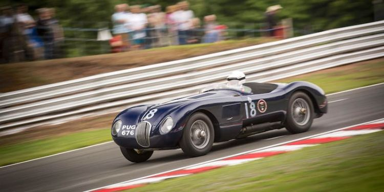 Jaguar C-Type at Oulton Park