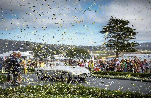 Best of Show 2014 winner: Jon Shirley's 1954 Ferrari 375 MM Scaglietti Coupe (photo: Rolex / Tom O'Neal)