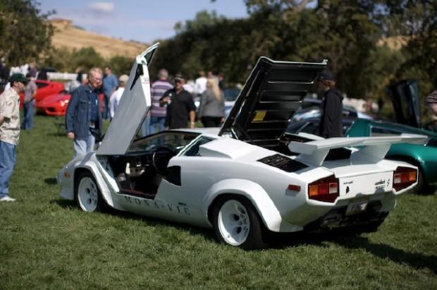 Lamborghini Countach at Niello Concours