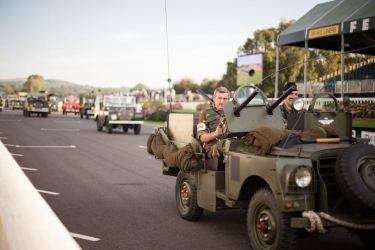 Land Rover Parade (photo: Stephanie O'Callaghan)