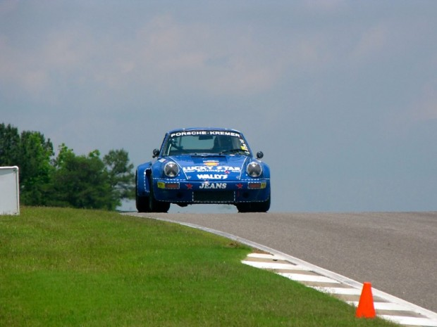1974 Porsche 911 RSR of Robert Newman during Legends of Motorsports Barber Motorsports Park