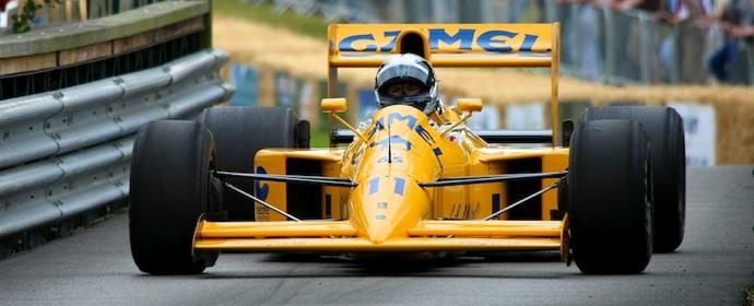 Team Camel Lotus Lamborghini F1