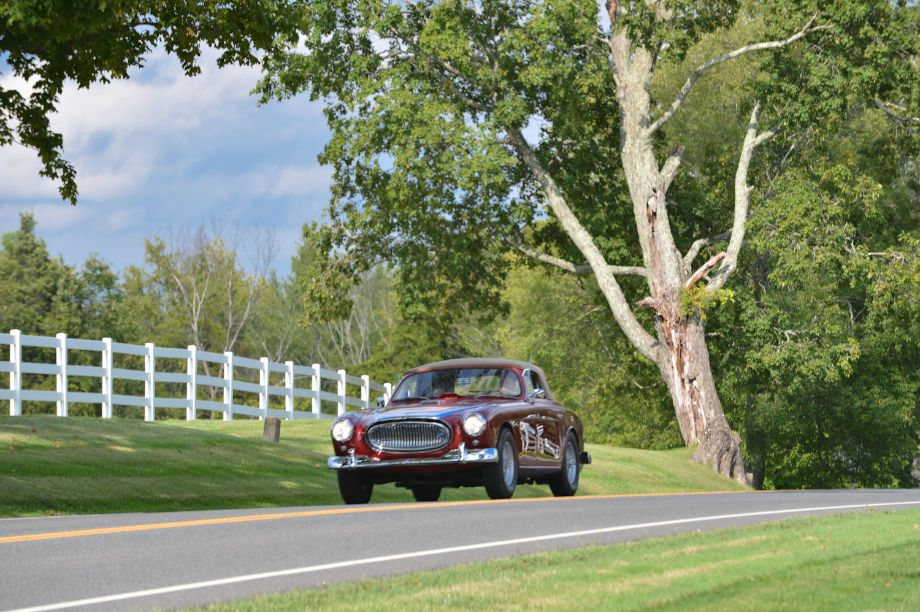 Cunningham C3 on Lime Rock Historics Kick-Off Parade