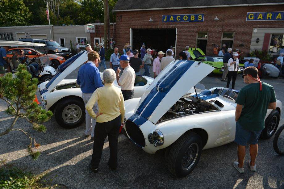 Cunninghams were a treat at Lime Rock Historics Welcome Party