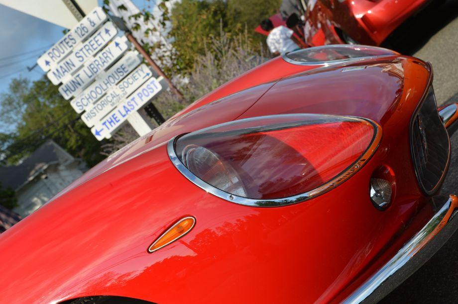 Ferrari 275 GTB Details at Lime Rock Historics Welcome Party