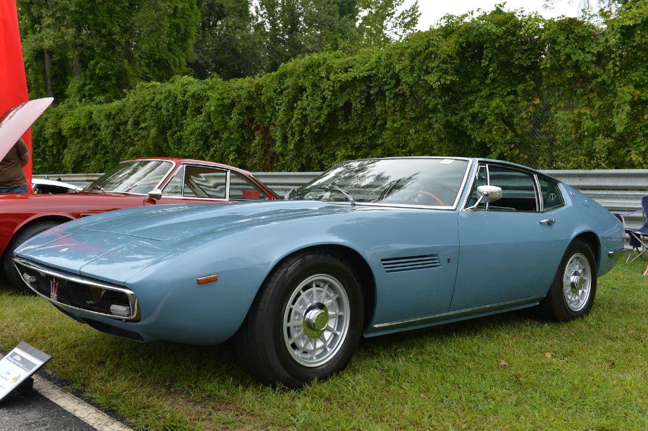1969 Maserati Ghibli.