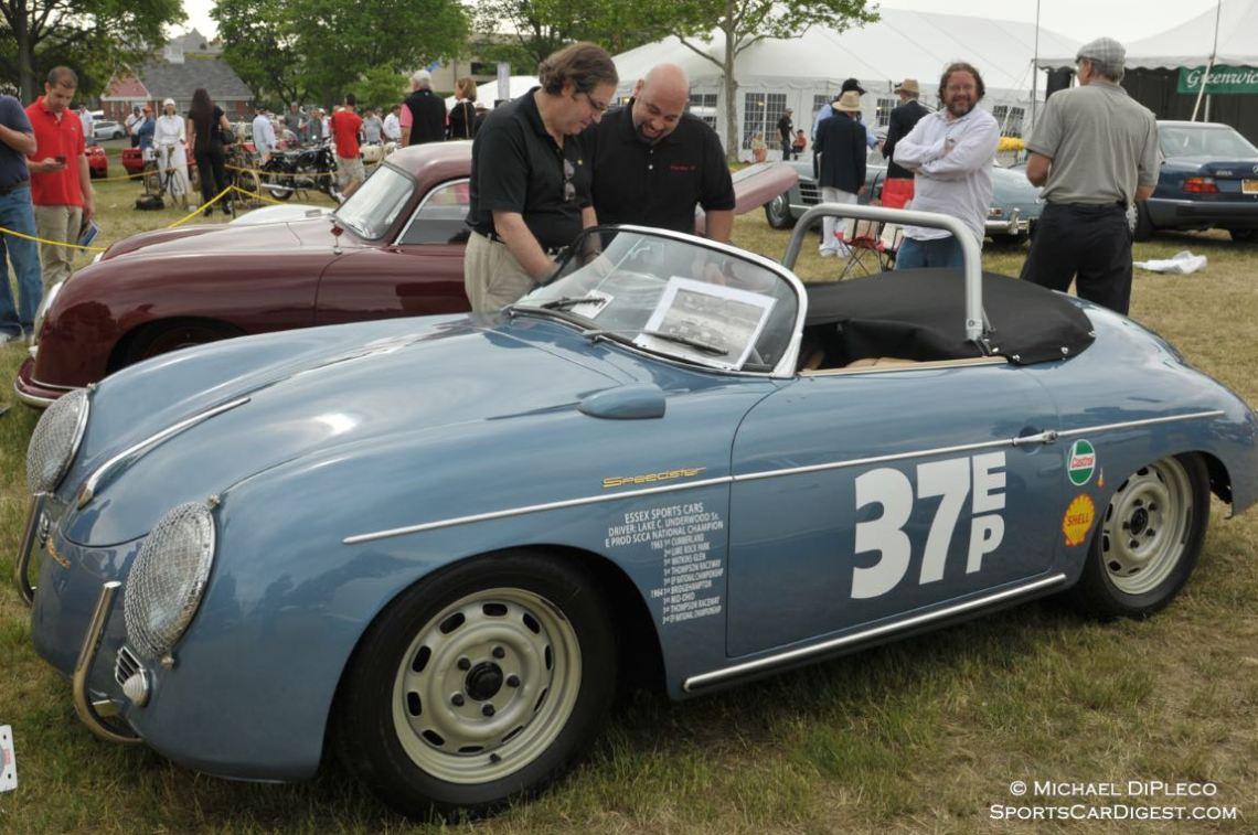 1957 Porsche 356A.