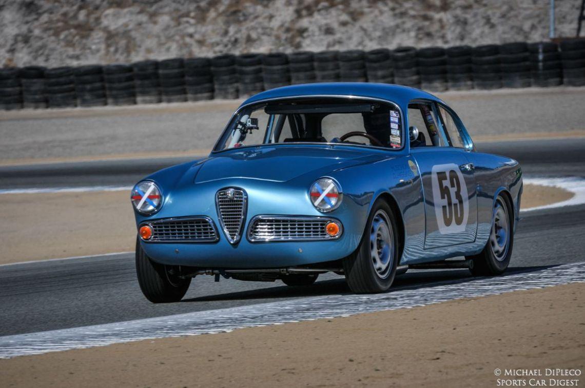 1958 Alfa Romeo Guilietta Sprint.