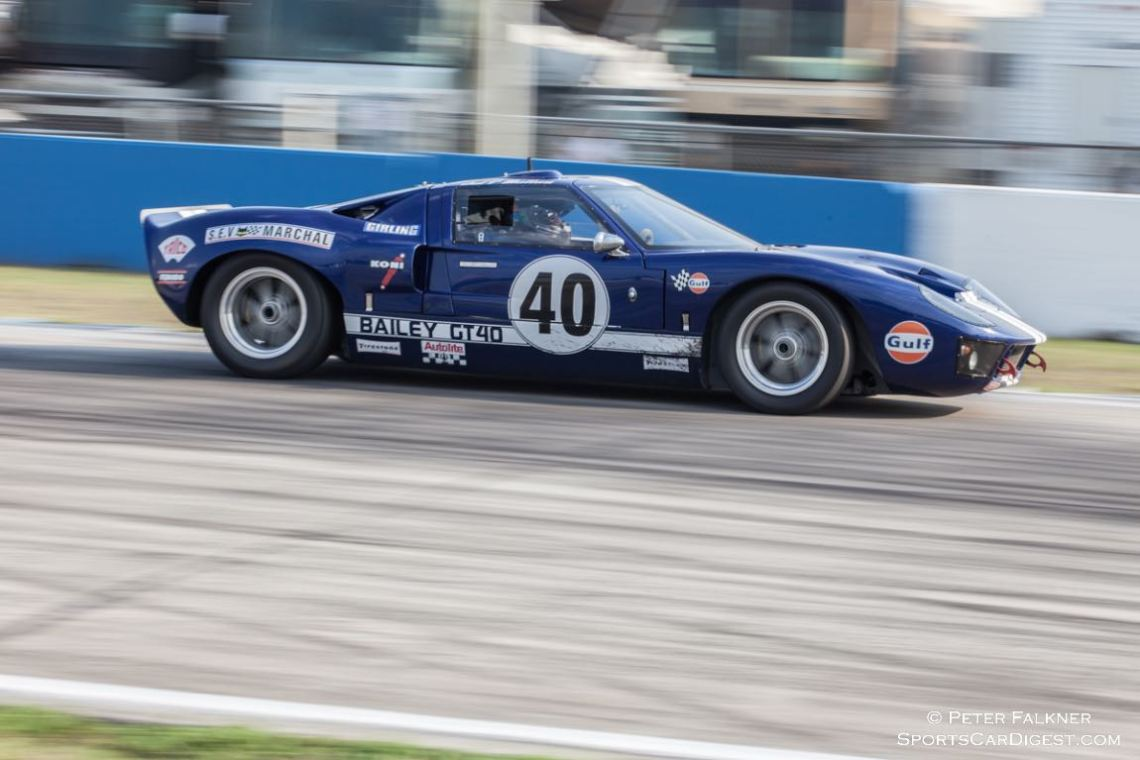 Bailey GT40, 3rd place BRM enduro