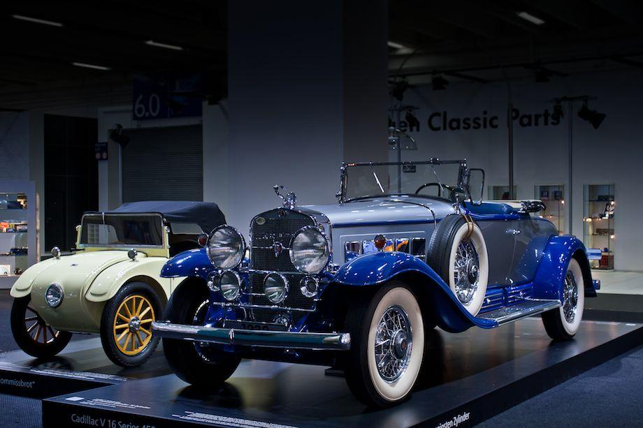 1927 Hanomag Komissbrot and 1931 Cadillac V16 Series 452