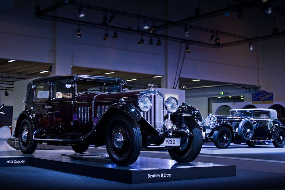 1931 Bentley 8-Litre Mulliner Saloon