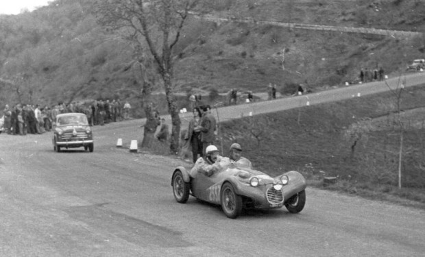 The Giaur at the 1954 Mille Miglia