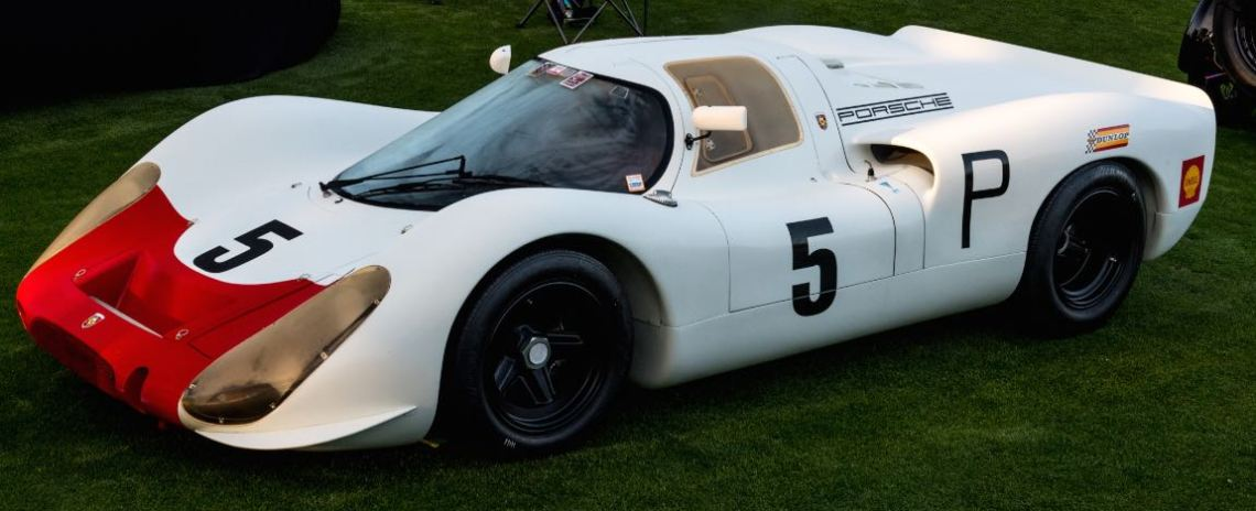 1969 Porsche 908 Short-Tail Coupe