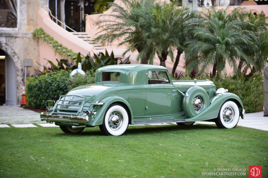 1934 Packard Twelve Dietrich - s/n 1108-32