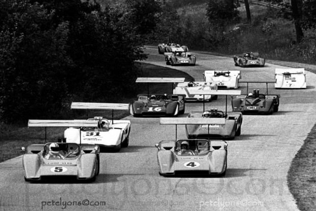 Can-Am pace lap at Road America