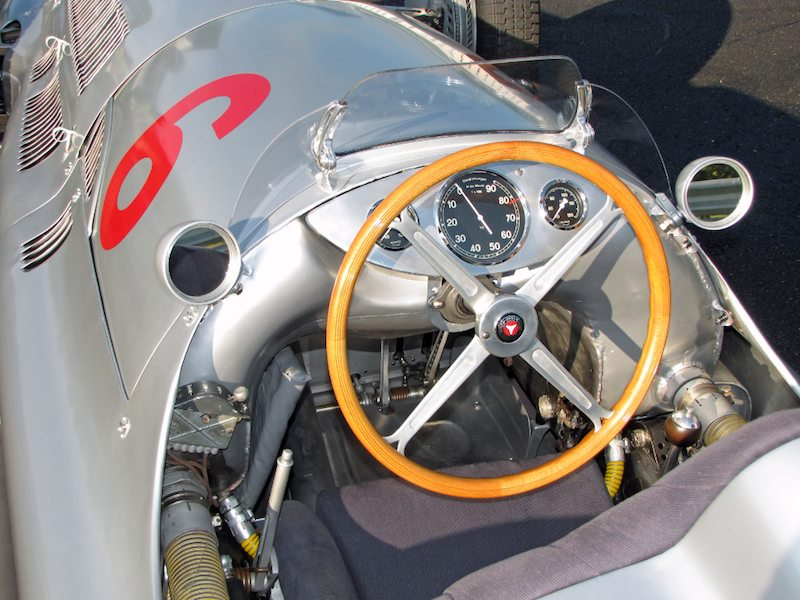 Mercedes-Benz W154 Silver Arrow - Car Profile | {Auto cockpit mercedes 8}