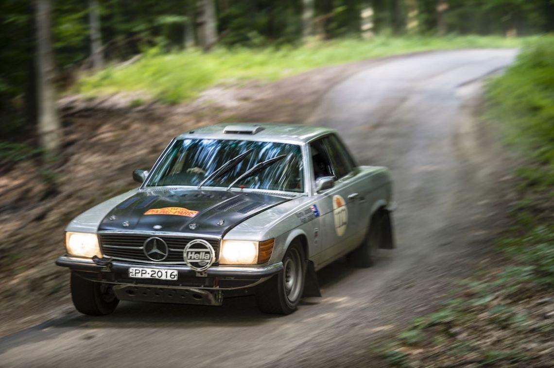 Car 112. Murray Jackson(AUS) / Adam Jackson(AUS)1974 - Mercedes 450 SLC4500, Peking to Paris 2016., Peking to Paris 2016. Day 28. Kosice - Budapest
