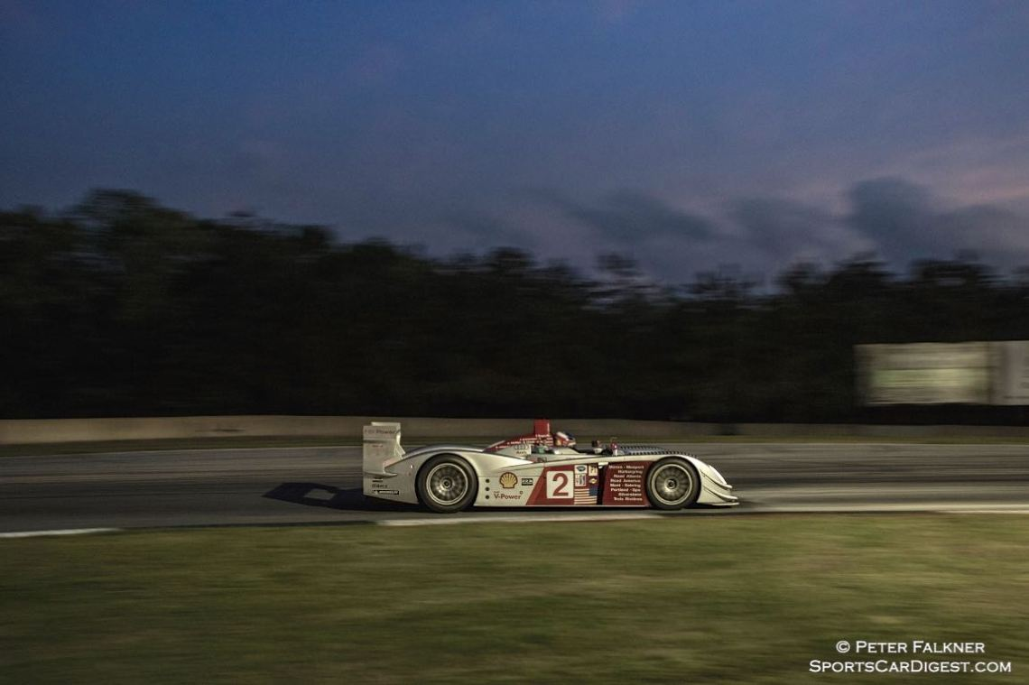 Engen, 05 Audi R8 LMP, Saturday night sprint race winner