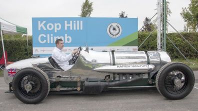 Napier Railton on the line