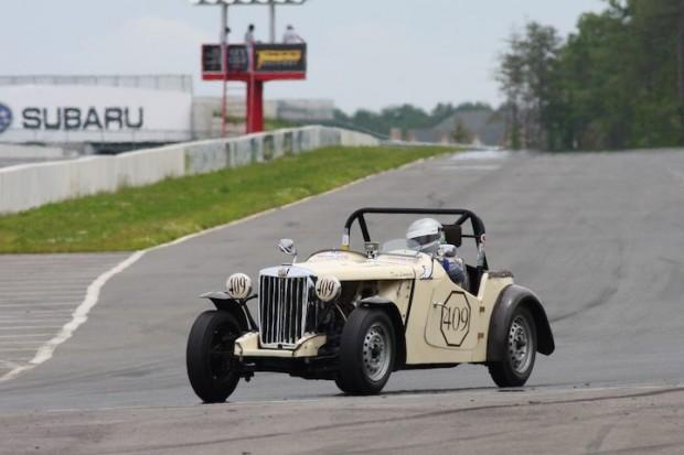Dan Leonard - 1953 MG TD
