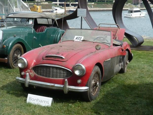 1957 Austin-Healey 100-6 BN4 Roadster