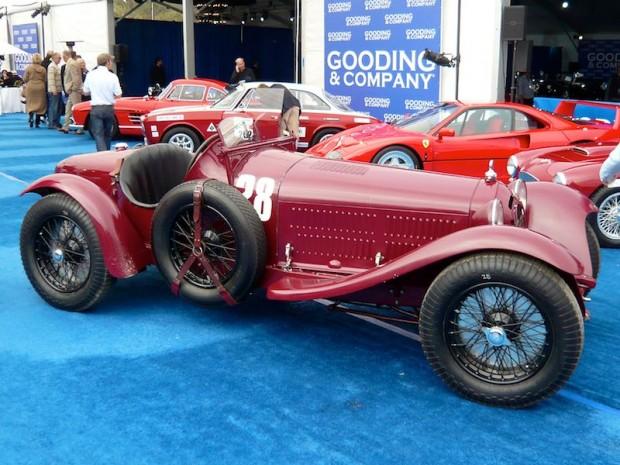 1933 Alfa Romeo 8C 2300 Monza, Body by Brianza