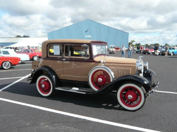 1931 Ford Model A Victoria Coupe