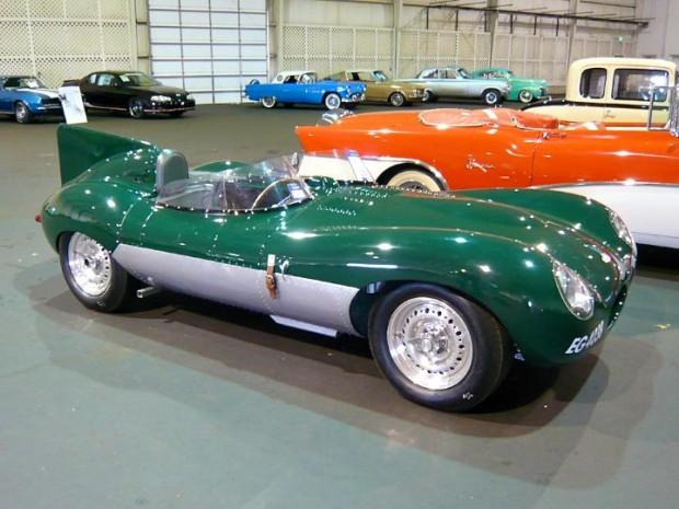 1957 Jaguar D-type Replica
