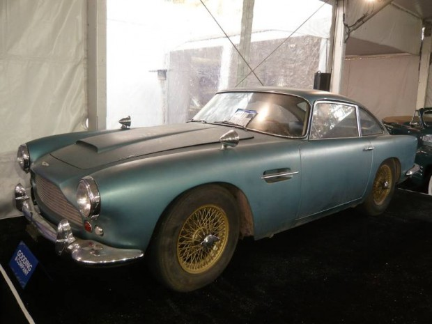 1961 Aston Martin DB4 Series IV Coupe barn find