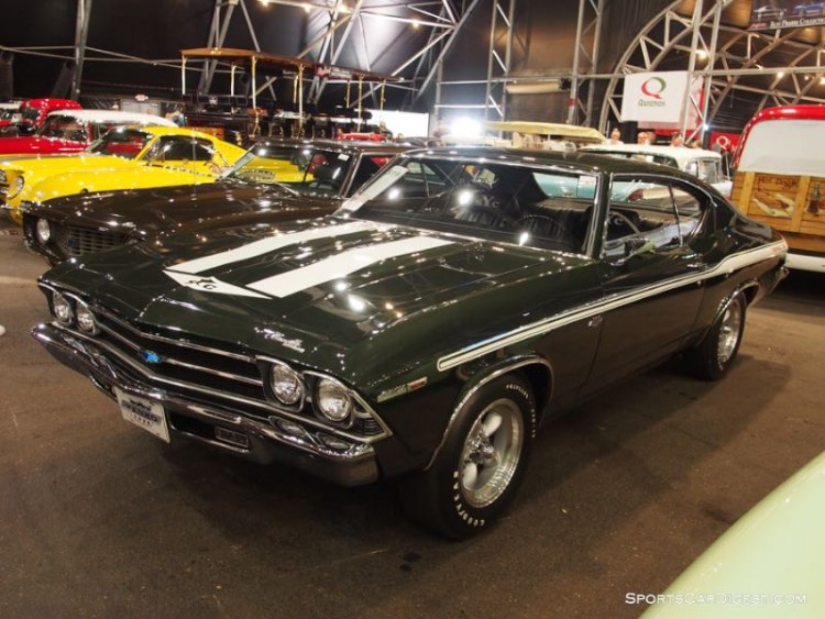 1969 Chevrolet Chevelle Yenko 427 sold for $275,000, a strong $99,000 more than the purchase price in 2008