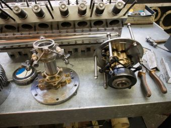 Ettore's marvelous clutch linkage with T51 block
