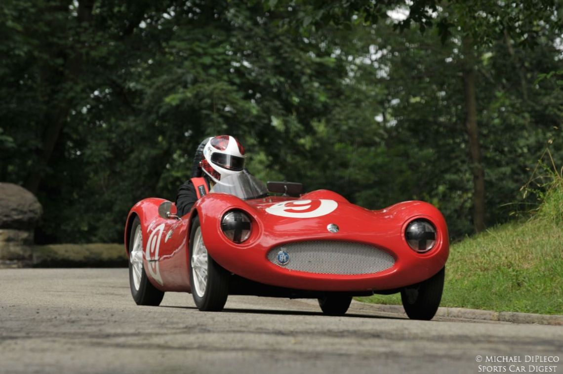 1957 Elva Mk1- Chris Patterson.
