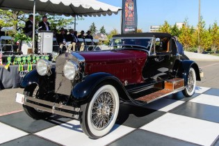 1928 Isotta Fraschini Tipo SASS, Best of Show at the Pacific Northwest Concours d'Elegance 2014