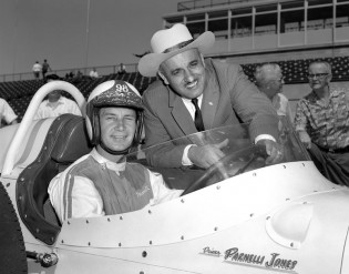 Parnelli Jones at the 1962 Indy 500