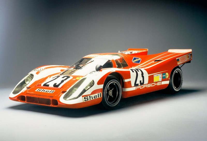 Porsche honors 1970 24 hours of le mans victory for Garage automobile le mans
