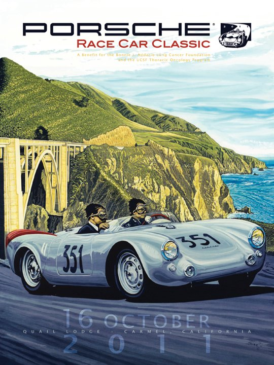 Porsche Race Car Classic 2011 Official Artwork Unveiled