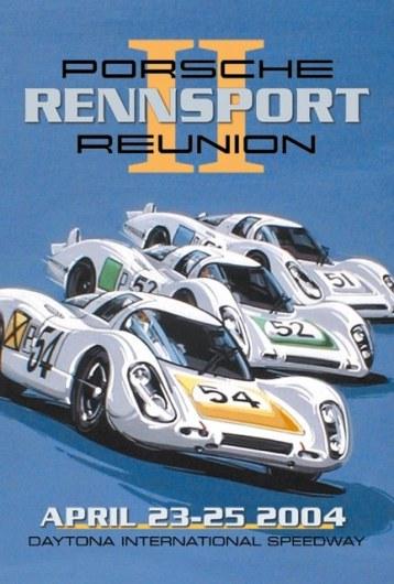 Porsche Rennsport Reunion II Poster