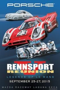 Porsche Rennsport Reunion V - Poster