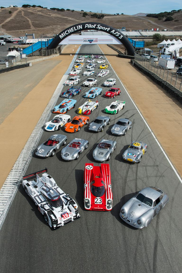 Porsche Rennsport Reunion V Group Photo