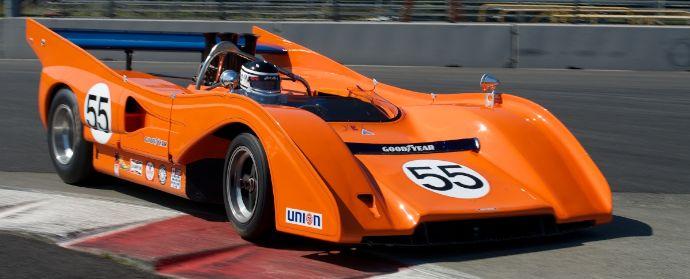 McLaren M8FP at Portland Historics 2012