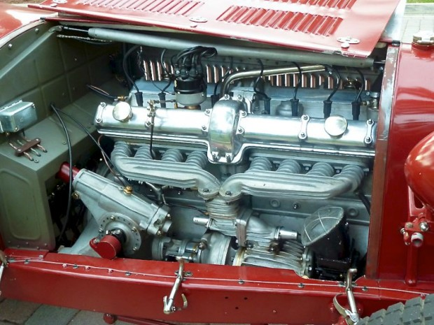 Pur Sang 8C 2300 Monza engine