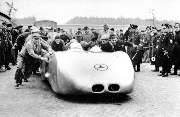 Mercedes-Benz W 125 record-breaking car