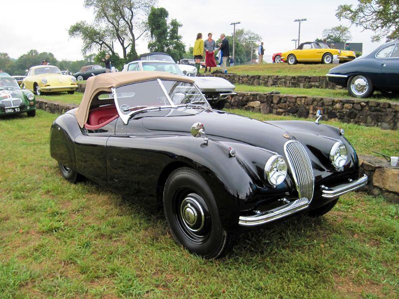 1950 Jaguar Xk120 Roadster At Radnor Hunt Concours