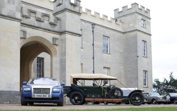 Rolls-Royce Spirit of Ecstasy Drive through London
