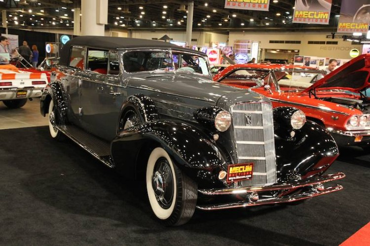 1934 Cadillac 370-D V-12 All-Weather Phaeton