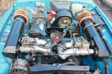 1970 SAAB 96 Rally Engine